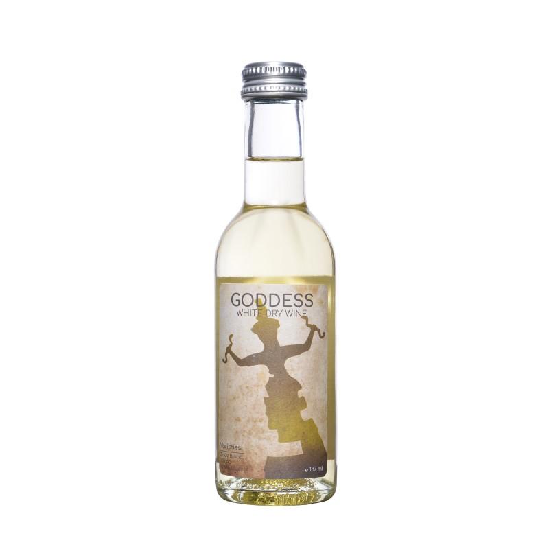 Κρασί λευκό GODDESS 187ml