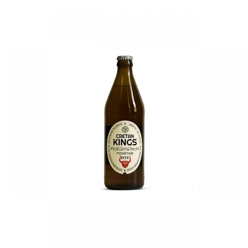 Μπύρα Cretan Kings μπουκάλι 500ml
