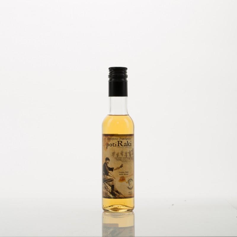 Ρακή με μέλι ρακόμελο PotiRaki 200ml