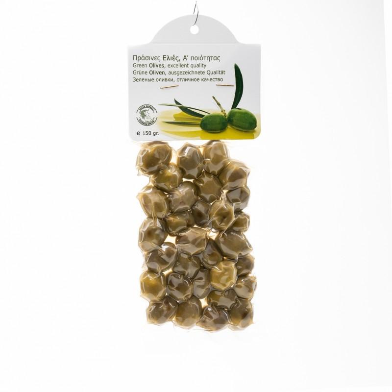 Ελιές Α΄ Ποιότητας 150gr Πράσινες