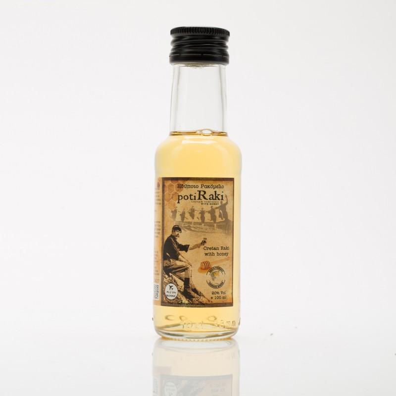 Ρακή με μέλι ρακόμελο PotiRaki 100ml