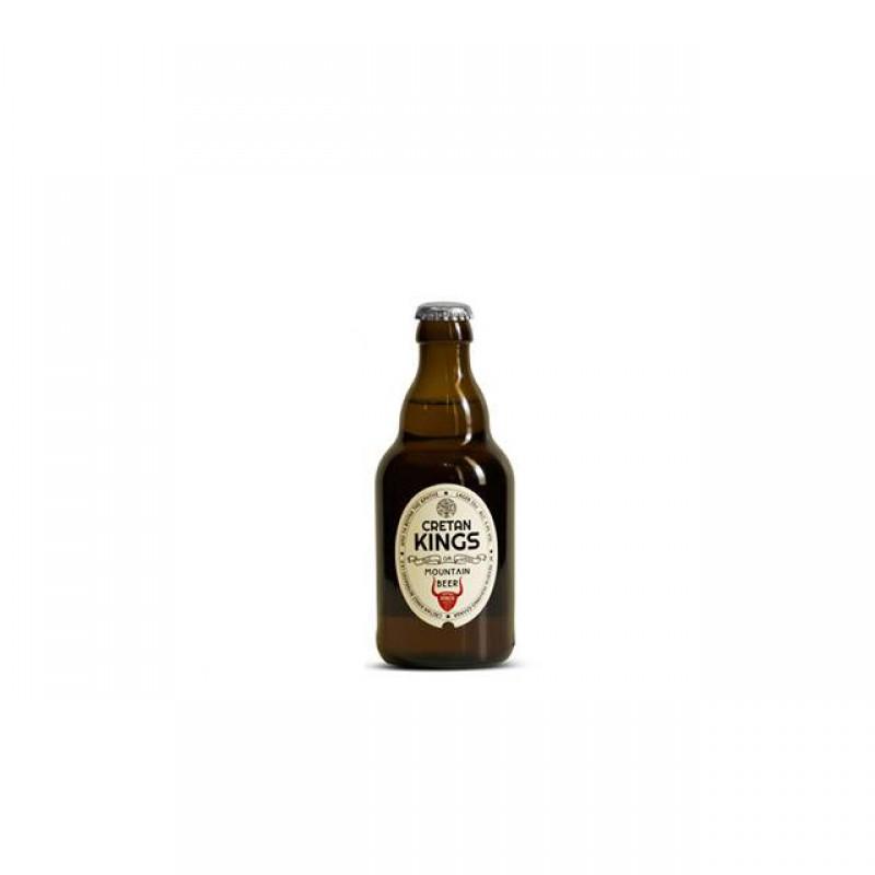 Μπύρα Cretan Kings μπουκάλι 330ml