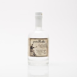 Tsikoudia or raki PotiRaki 500ml in a luxury bottle